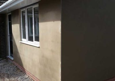 Sand & Cement Rendered Extension