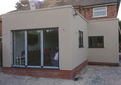 Single Storey Extension Render